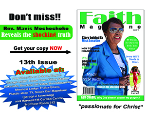 Faith Magazine 13th Issue