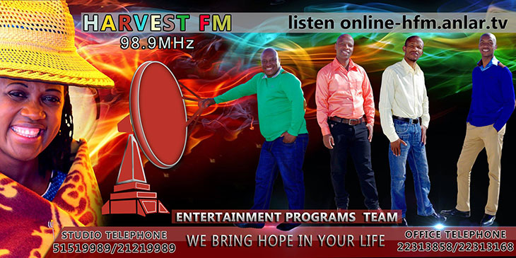 Harvest FM advert