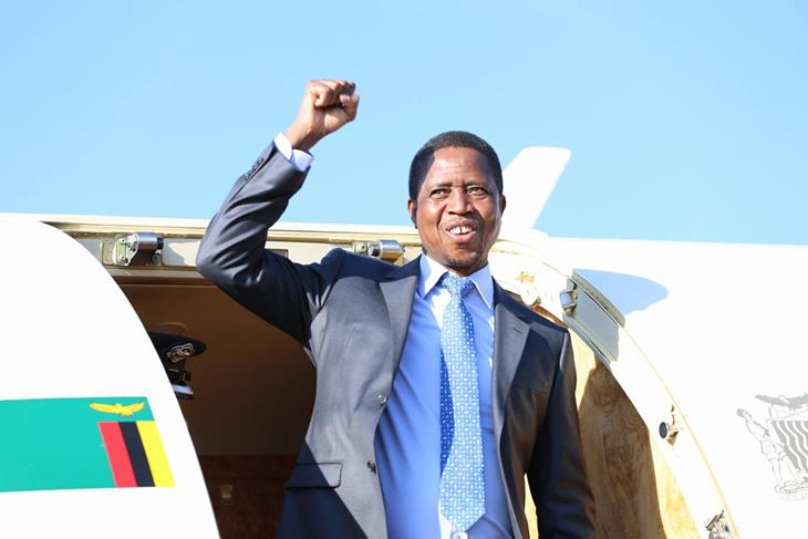 President Edgar Lungu is expected in Lesotho<br/>President Edgar Lungu is expected in Lesotho<br/>President Edgar Lungu is expected in Lesotho