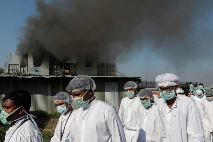 Fire at COVID-19 vaccine production Centre in India kills at least five