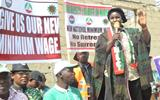 Workers in Nigeria start protests to demand better minimum wage.