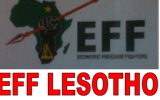 EFF Lesotho expresses concern over Lesotho's handling of COVID-19.