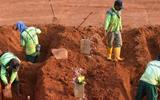 Indonesia punishes people who don't wear masks by forcing them to dig graves for Covid-19 dead